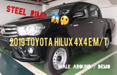 2019 Toyota Hilux Owners Manual