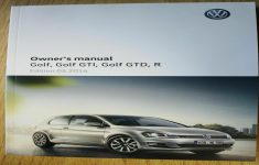 2019 VW Golf Owners Manual