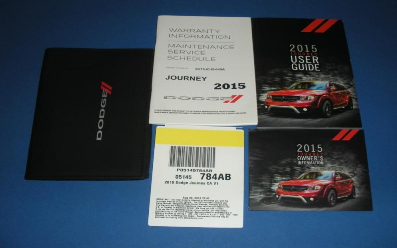 Dodge Journey Owners Manual 2015