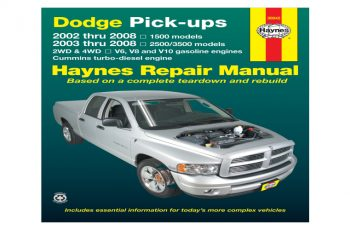 Owners Manual For 2005 Dodge RAM 1500