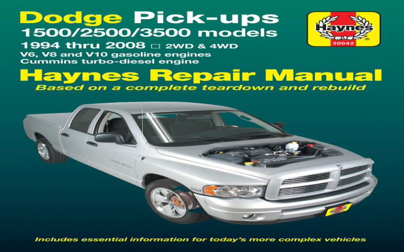 Owners Manual For 2006 Dodge RAM 1500