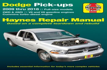Owners Manual For 2009 Dodge RAM 1500