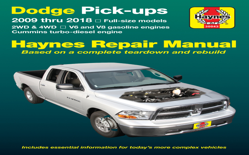 Owners Manual For 2014 Dodge RAM 1500